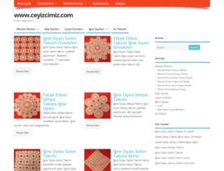 ceyizcimiz.com screenshot