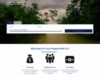 ceylonproperties.com screenshot