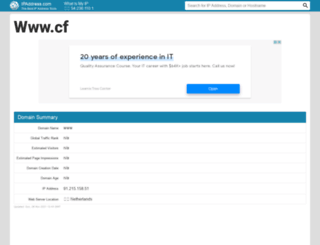 cf.ipaddress.com screenshot