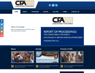 cfa-network.org screenshot