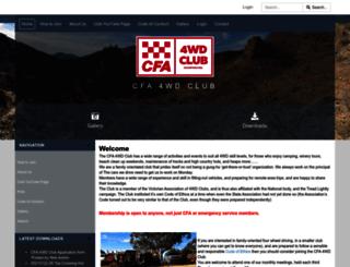 cfa4wd.org screenshot