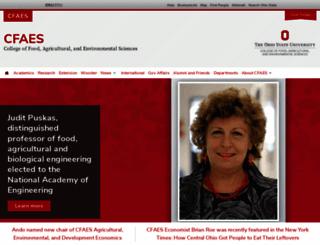 cfaes.ohio-state.edu screenshot