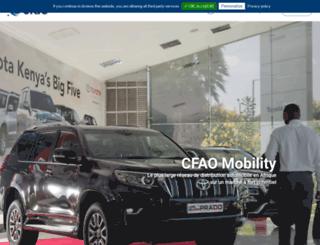 cfao-automotive.com screenshot
