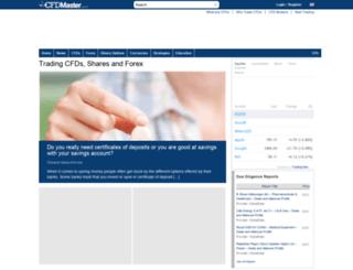 cfdmaster.com screenshot