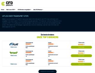 cfdplatform.nl screenshot