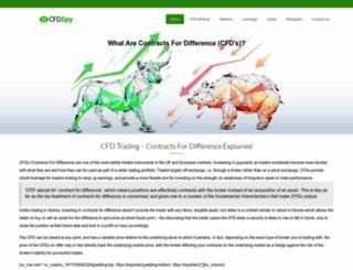 cfdspy.com screenshot