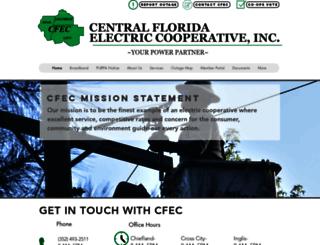 cfec.com screenshot
