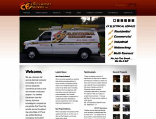 cfelectricalservice.com screenshot
