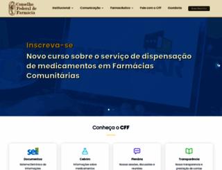 cff.org.br screenshot