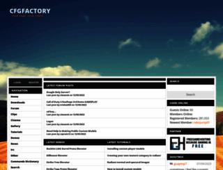 cfgfactory.com screenshot