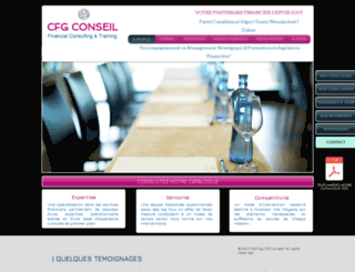 cfgfinance.com screenshot