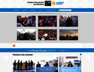 cfkargentina.com screenshot