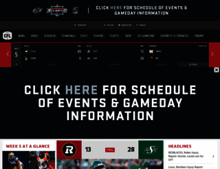 cfl.ca screenshot