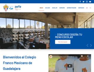 cfm.edu.mx screenshot