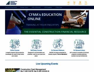 cfma.digitellinc.com screenshot
