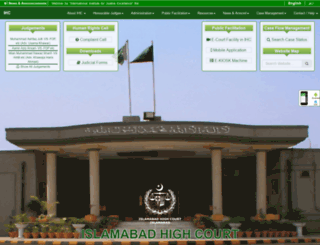 cfmsd.ihc.gov.pk screenshot