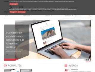cfp.u-paris2.fr screenshot