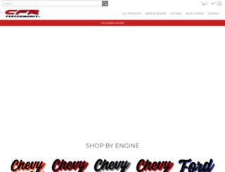 cfrperformance.com screenshot