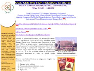 cfsindia.org.in screenshot