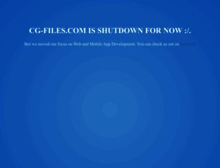 cg-files.com screenshot
