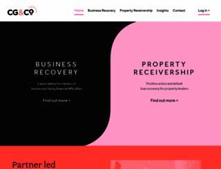 cg-recovery.com screenshot