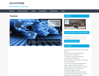 cg-systems.hu screenshot