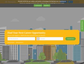 cg.pure-jobs.com screenshot