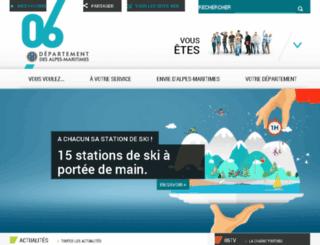 cg06.fr screenshot