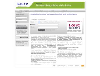 cg42.marches-publics.info screenshot