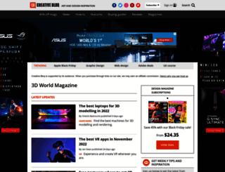 cgawards.3dworldmag.com screenshot