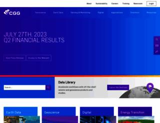cgg.com screenshot