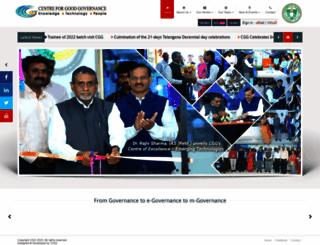 cgg.gov.in screenshot