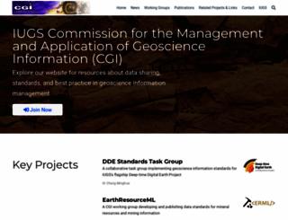 cgi-iugs.org screenshot