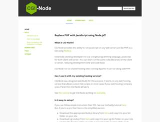 cgi-node.org screenshot
