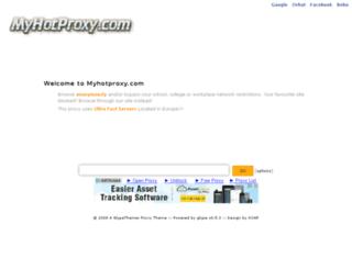 cgi.myhotproxy.com screenshot