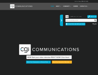 cgicommunications.com screenshot