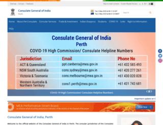 cgiperth.org screenshot