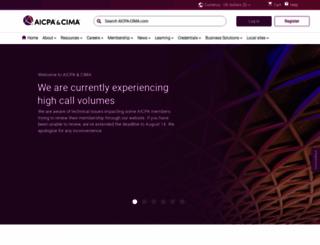 cgma.org screenshot