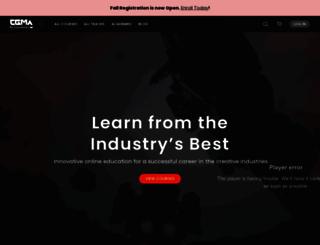 cgmasteracademy.com screenshot