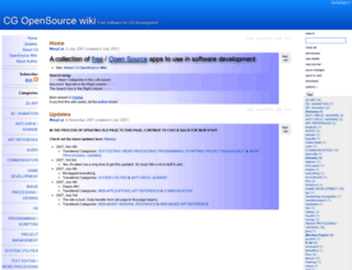 cgoswiki.tiddlyspot.com screenshot