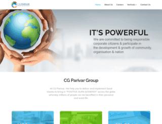 cgparivar.com screenshot
