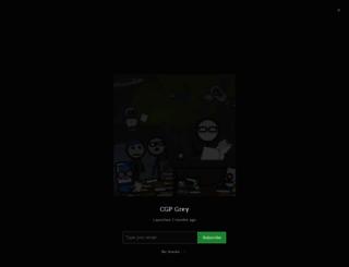 cgpgrey.squarespace.com screenshot