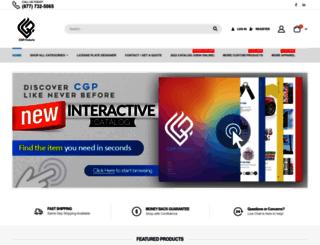 cgpproducts.com screenshot