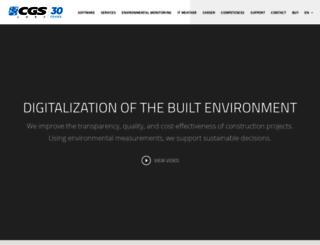 cgs-labs.com screenshot
