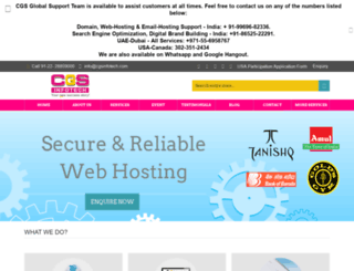 cgsinfotech.com screenshot