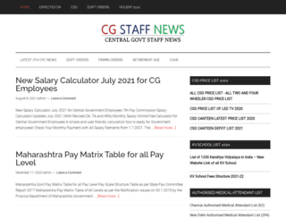 cgstaffnews.com screenshot