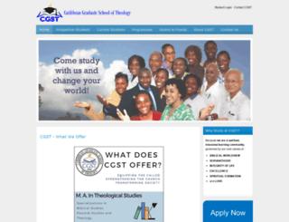 cgstonline.org screenshot