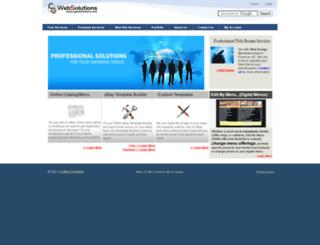 cgwebsolutions.com screenshot