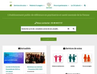 ch-poitiers.fr screenshot