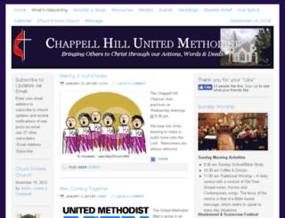 ch-umc.org screenshot